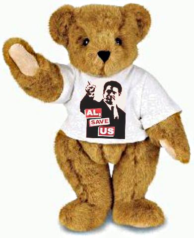 Teddy bear al gore