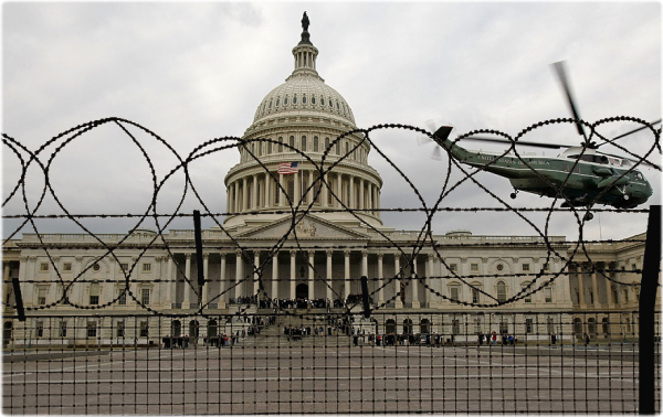 Congress barbed wire