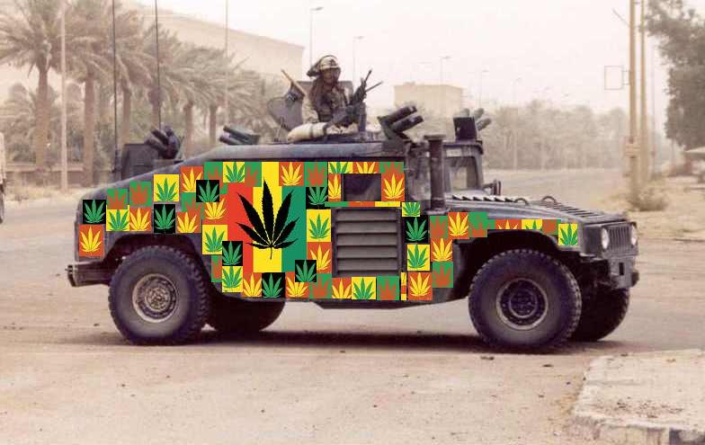 """Can You Believe Armed Trucks Are Essential In The """"War"""