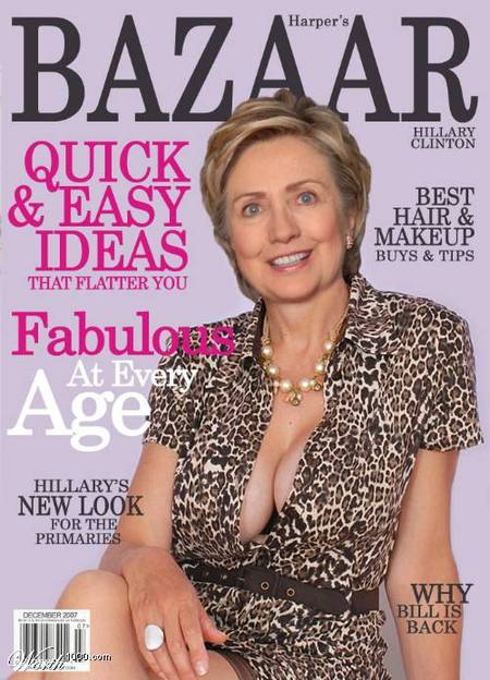 Hillary Clinton old cleavage